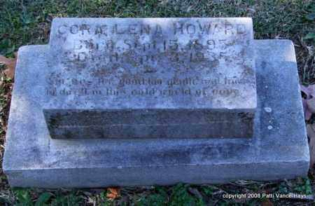 HOWARD, CORA LENA - Garland County, Arkansas | CORA LENA HOWARD - Arkansas Gravestone Photos