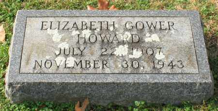 HOWARD, ELIZABETH - Garland County, Arkansas | ELIZABETH HOWARD - Arkansas Gravestone Photos