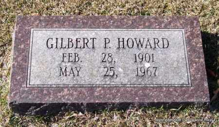 HOWARD, GILBERT P. - Garland County, Arkansas | GILBERT P. HOWARD - Arkansas Gravestone Photos