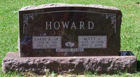 HOWARD, BETTY J. - Garland County, Arkansas | BETTY J. HOWARD - Arkansas Gravestone Photos
