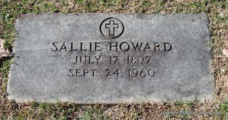 HOUPT HOWARD, SALLIE - Garland County, Arkansas | SALLIE HOUPT HOWARD - Arkansas Gravestone Photos