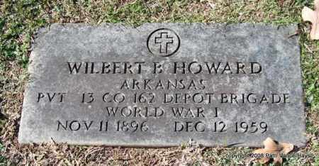 HOWARD (VETERAN WWI), WILBERT B - Garland County, Arkansas | WILBERT B HOWARD (VETERAN WWI) - Arkansas Gravestone Photos