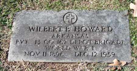 HOWARD (VETERAN WWI), WILBERT B - Garland County, Arkansas | WILBERT B HOWARD (VETERAN WWI) - Arkansas Gravestone Photos