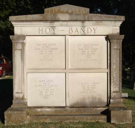 HOY-BANDY, FAMILY TOMB - Garland County, Arkansas | FAMILY TOMB HOY-BANDY - Arkansas Gravestone Photos