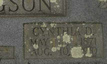 WARFORD HUCHINGSON, CYNTHIA D - Garland County, Arkansas | CYNTHIA D WARFORD HUCHINGSON - Arkansas Gravestone Photos