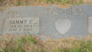 HUGES, SAMMY E. - Garland County, Arkansas | SAMMY E. HUGES - Arkansas Gravestone Photos