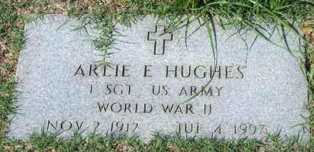 HUGHES (VETERAN WWII), ARLIE E. - Garland County, Arkansas | ARLIE E. HUGHES (VETERAN WWII) - Arkansas Gravestone Photos