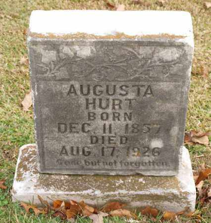 HURT, AUGUSTA - Garland County, Arkansas | AUGUSTA HURT - Arkansas Gravestone Photos