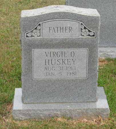 HUSKEY, VIRGIL O. - Garland County, Arkansas | VIRGIL O. HUSKEY - Arkansas Gravestone Photos