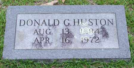 HUSTON, DONALD G. - Garland County, Arkansas | DONALD G. HUSTON - Arkansas Gravestone Photos