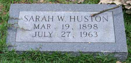 HUSTON, SARAH W. - Garland County, Arkansas | SARAH W. HUSTON - Arkansas Gravestone Photos