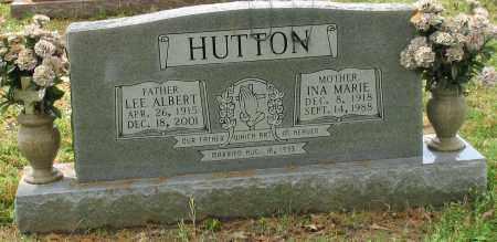 HUTTON, LEE ALBERT - Garland County, Arkansas | LEE ALBERT HUTTON - Arkansas Gravestone Photos