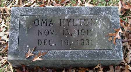 HYLTON, OMA - Garland County, Arkansas | OMA HYLTON - Arkansas Gravestone Photos