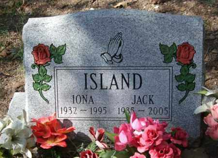 ISLAND, IONA - Garland County, Arkansas | IONA ISLAND - Arkansas Gravestone Photos