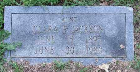 JACKSON, CLARA P. - Garland County, Arkansas | CLARA P. JACKSON - Arkansas Gravestone Photos