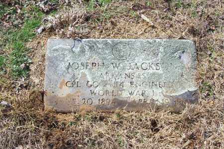 JACKSON (VETERAN WWI), JOSEPH W. - Garland County, Arkansas | JOSEPH W. JACKSON (VETERAN WWI) - Arkansas Gravestone Photos