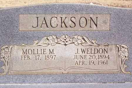 JACKSON, JOSEPH WELDON (CLOSE UP) - Garland County, Arkansas | JOSEPH WELDON (CLOSE UP) JACKSON - Arkansas Gravestone Photos