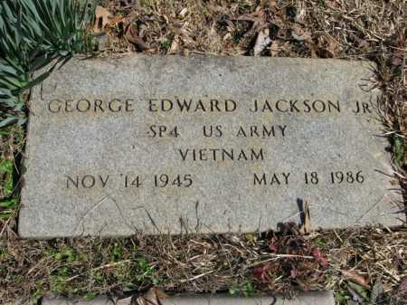 JACKSON, JR. (VETERAN VIET), GEORGE EDWARD - Garland County, Arkansas | GEORGE EDWARD JACKSON, JR. (VETERAN VIET) - Arkansas Gravestone Photos