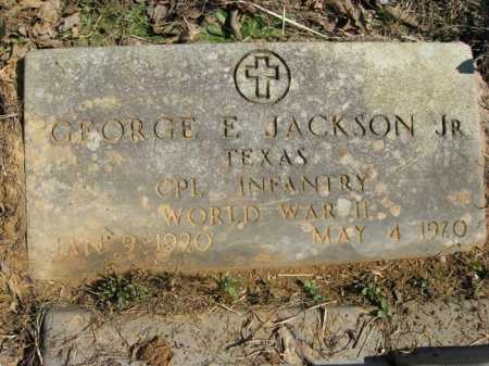 JACKSON, JR. (VETERAN WWII), GEORGE E. - Garland County, Arkansas | GEORGE E. JACKSON, JR. (VETERAN WWII) - Arkansas Gravestone Photos