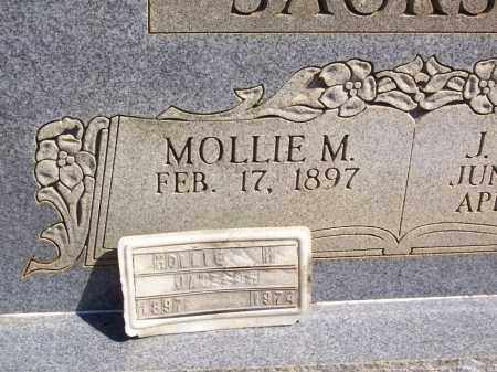 JACKSON, MOLLIE M. (FOOTMARKER) - Garland County, Arkansas | MOLLIE M. (FOOTMARKER) JACKSON - Arkansas Gravestone Photos