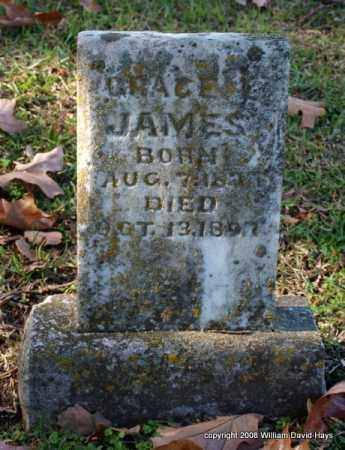 JAMES, GRACE - Garland County, Arkansas | GRACE JAMES - Arkansas Gravestone Photos