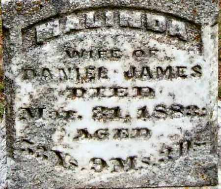 BLAND JAMES, MALINDA (CLOSE UP) - Garland County, Arkansas | MALINDA (CLOSE UP) BLAND JAMES - Arkansas Gravestone Photos