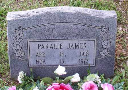 GRISHAM JAMES, PARALIE - Garland County, Arkansas | PARALIE GRISHAM JAMES - Arkansas Gravestone Photos