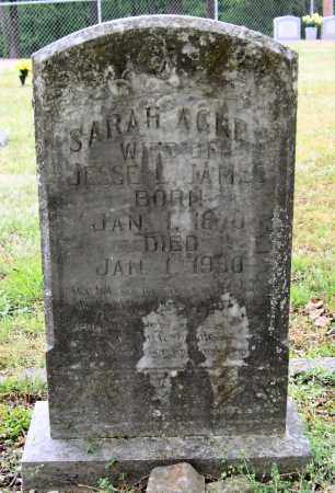 JAMES, SARAH AGNES - Garland County, Arkansas | SARAH AGNES JAMES - Arkansas Gravestone Photos
