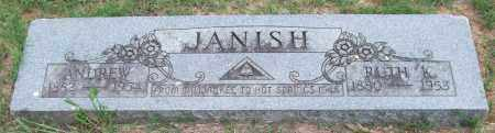 JANISH, RUTH K. - Garland County, Arkansas | RUTH K. JANISH - Arkansas Gravestone Photos