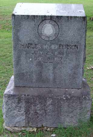 JEFFERSON, CHARLES H. - Garland County, Arkansas | CHARLES H. JEFFERSON - Arkansas Gravestone Photos