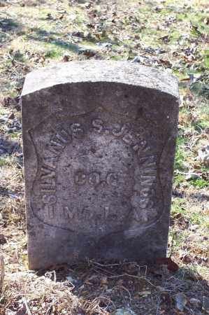 JENNINGS (VETERAN UNION), SILVANUS H. - Garland County, Arkansas | SILVANUS H. JENNINGS (VETERAN UNION) - Arkansas Gravestone Photos