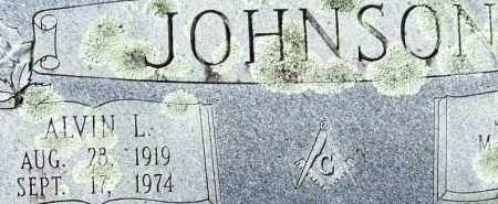 JOHNSON, ALVIN L. (CLOSE UP) - Garland County, Arkansas | ALVIN L. (CLOSE UP) JOHNSON - Arkansas Gravestone Photos