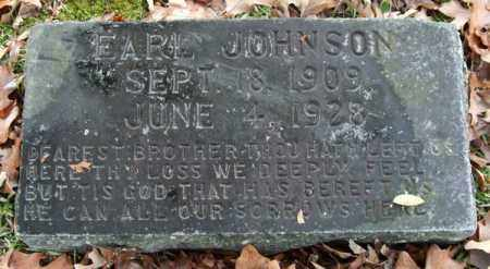 JOHNSON, EARL - Garland County, Arkansas | EARL JOHNSON - Arkansas Gravestone Photos