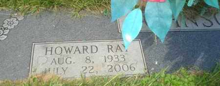 JOHNSON, HOWARD RAY - Garland County, Arkansas | HOWARD RAY JOHNSON - Arkansas Gravestone Photos