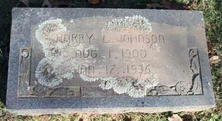 JOHNSON, HARRY L. - Garland County, Arkansas | HARRY L. JOHNSON - Arkansas Gravestone Photos