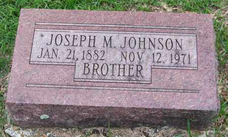 JOHNSON, JOSEPH M. - Garland County, Arkansas | JOSEPH M. JOHNSON - Arkansas Gravestone Photos
