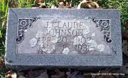 JOHNSON, J. CLAUDE - Garland County, Arkansas | J. CLAUDE JOHNSON - Arkansas Gravestone Photos