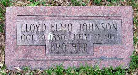 JOHNSON, LLOYD ELMO - Garland County, Arkansas | LLOYD ELMO JOHNSON - Arkansas Gravestone Photos