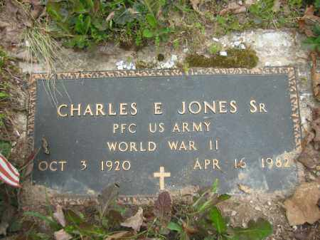 JONES, SR. (VETERAN WWII), CHARLES E. - Garland County, Arkansas | CHARLES E. JONES, SR. (VETERAN WWII) - Arkansas Gravestone Photos