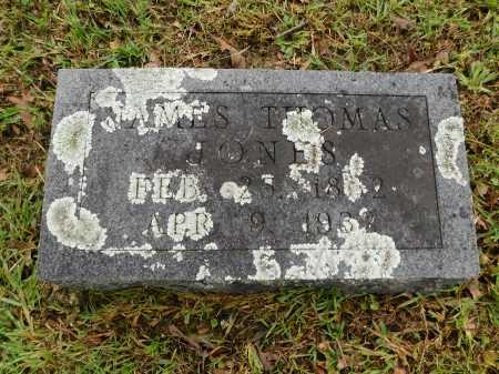 JONES, JAMES THOMAS - Garland County, Arkansas   JAMES THOMAS JONES - Arkansas Gravestone Photos