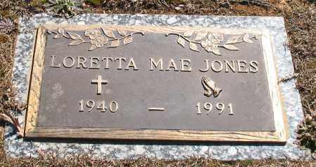 JONES, LORETTA MAE - Garland County, Arkansas | LORETTA MAE JONES - Arkansas Gravestone Photos