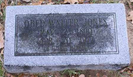 JONES, OBED WALTER - Garland County, Arkansas | OBED WALTER JONES - Arkansas Gravestone Photos