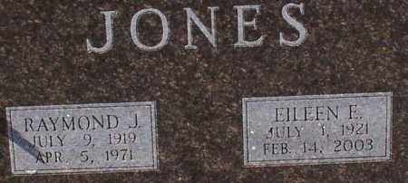 JONES, EILEEN E. (CLOSE UP) - Garland County, Arkansas | EILEEN E. (CLOSE UP) JONES - Arkansas Gravestone Photos