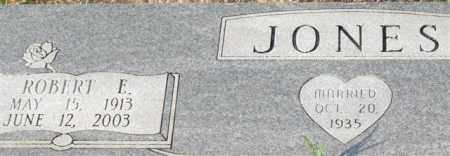 JONES, ROBERT E. (CLOSE UP) - Garland County, Arkansas | ROBERT E. (CLOSE UP) JONES - Arkansas Gravestone Photos