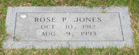 JONES, ROSE P. - Garland County, Arkansas | ROSE P. JONES - Arkansas Gravestone Photos