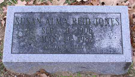 JONES, SUSAN ALMA - Garland County, Arkansas | SUSAN ALMA JONES - Arkansas Gravestone Photos
