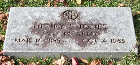 JONES (VETERAN), HENRY S. - Garland County, Arkansas | HENRY S. JONES (VETERAN) - Arkansas Gravestone Photos