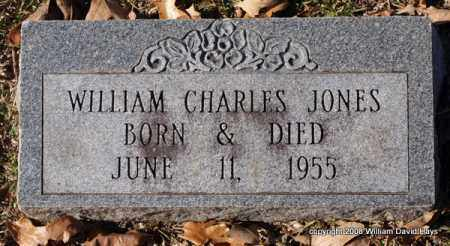 JONES, WILLIAM CHARLES - Garland County, Arkansas | WILLIAM CHARLES JONES - Arkansas Gravestone Photos