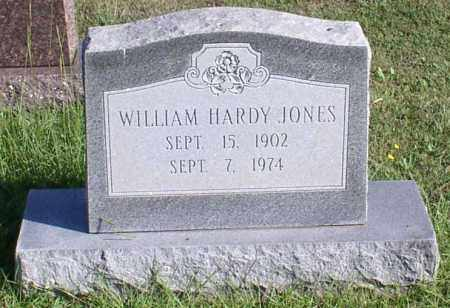 JONES, WILLIAM HARDY - Garland County, Arkansas | WILLIAM HARDY JONES - Arkansas Gravestone Photos