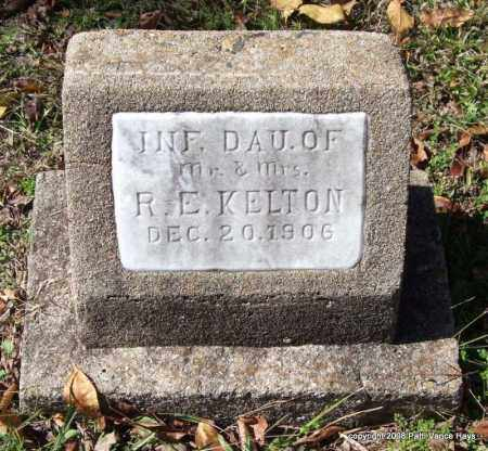 KELTON, INFANT DAUGHTER - Garland County, Arkansas | INFANT DAUGHTER KELTON - Arkansas Gravestone Photos